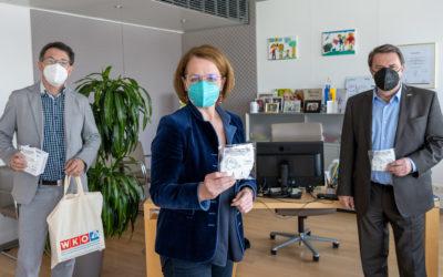 400.000 Masken für sichere Betreuung
